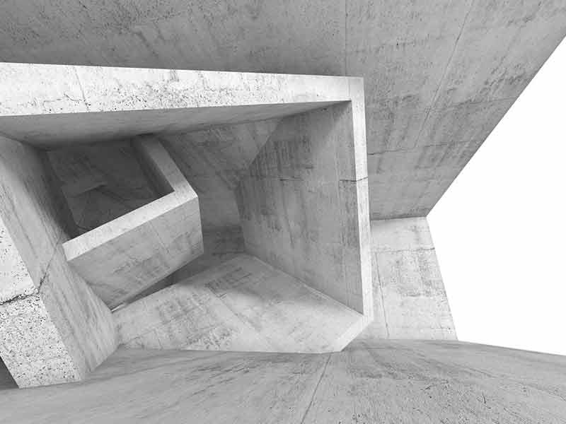 construction d'une structure béton